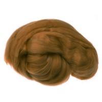 Пряжа для валяния (лента гребенная) 100% акрил 100г 0130-Бронза