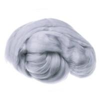 Пряжа для валяния (лента гребенная) 100% акрил 100г 1130-Ангора
