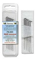 Иглы GAMMA 40 - тонкие для валяния (фелтинга) 5шт.