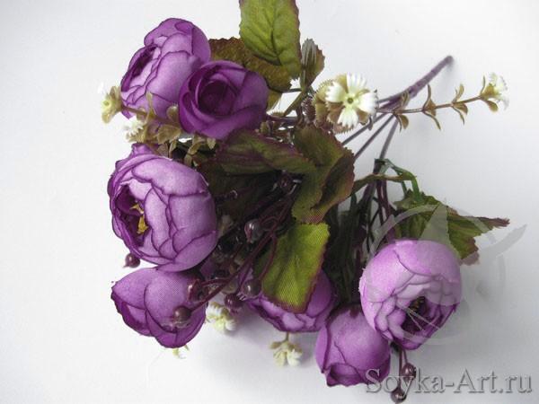 Искусственные цветы камелия