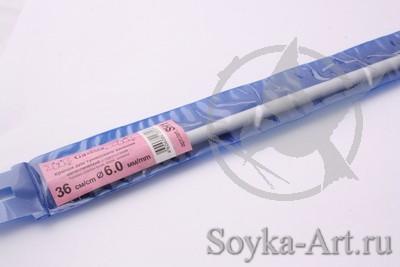 купить крючок для тунисского вязания Gamma 36см D60мм с доставкой